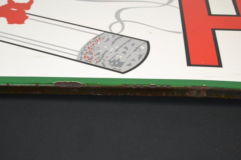 1963 Porcelain Sign for Cigarettes Armada For Sale 8