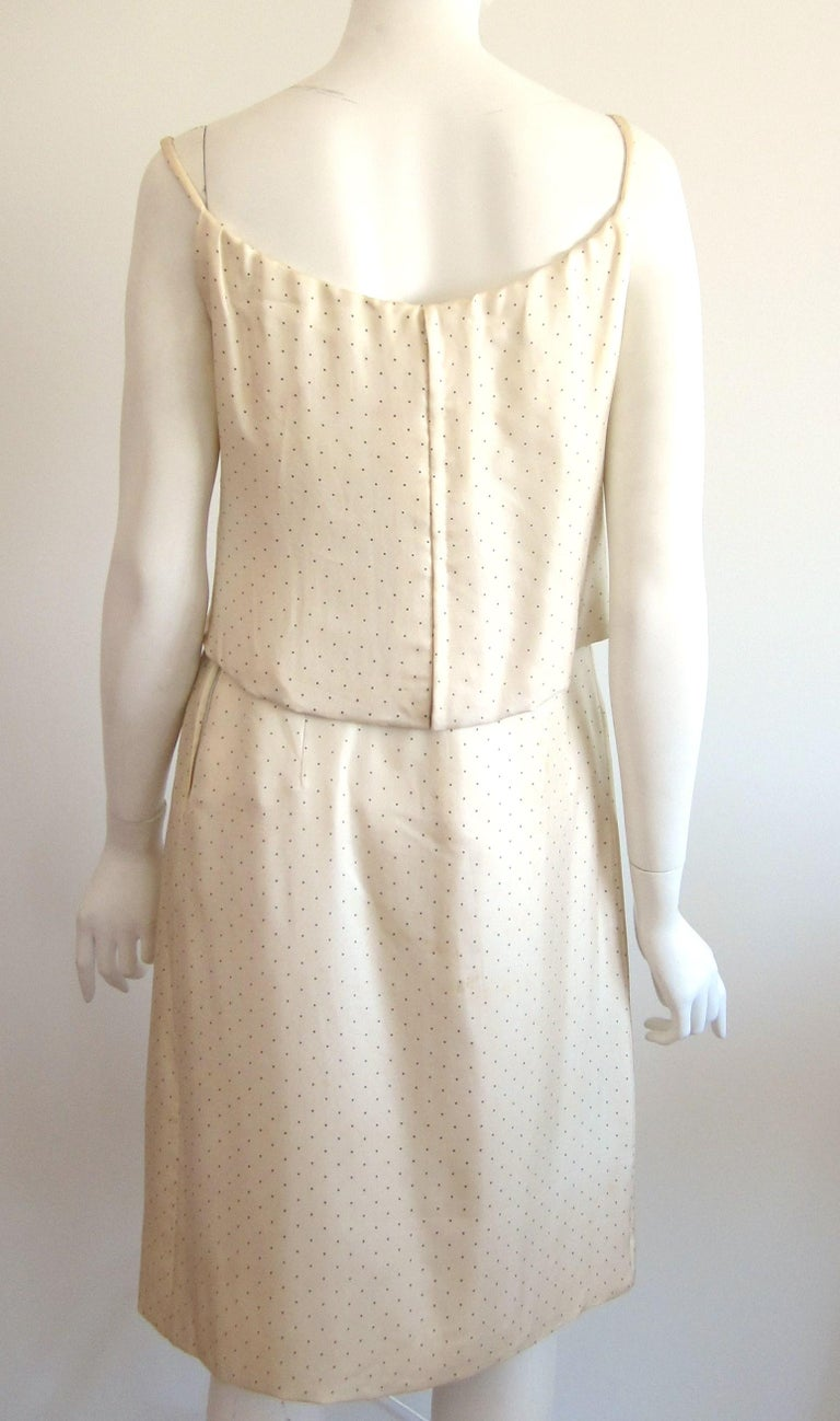 1964 Christian Dior 2 Piece Marc Bohan Dress - Jacket Suit Numbered 123094 For Sale 6