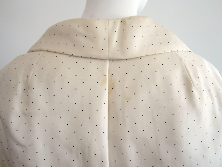 1964 Christian Dior 2 Piece Marc Bohan Dress - Jacket Suit Numbered 123094 For Sale 2