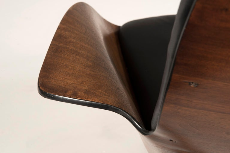 1964 Mr. Chair II by George Mulhauser for Plycraft and Ottoman For Sale 4