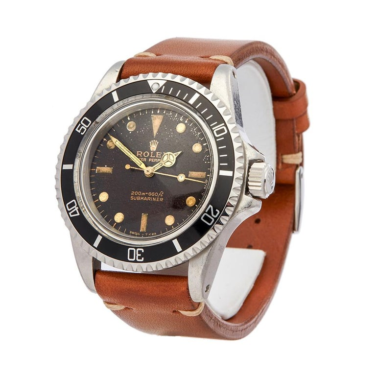 Vintage  *  *Complete with: Presentation Box dated 1964  *Case Size: 40mm  *Strap: Stainless Steel Oyster  *Age: 1964  *Strap length: Adjustable up to 20cm. Please note we can order spare links and alternate length/colour straps if required. For a