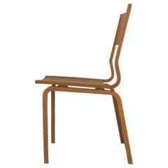 1965 Arne Jacobsen Saint Catherines Chair in Laminated Oak by Fritz Hansen