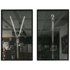 1965 Clive Barker Rare Limited Edition Prints Zip 1 & Zip 2 Pop Artist Vintage