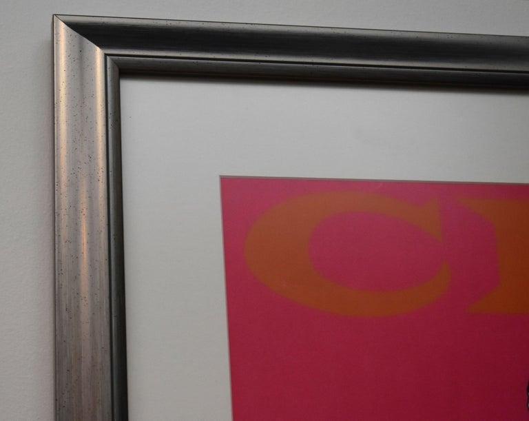 1965 Mel Ramos Color Lithograph Title