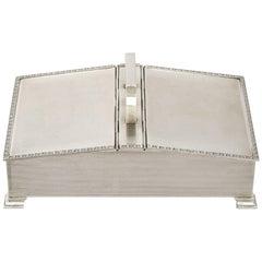 1965 Sterling Silver Cigarette Box