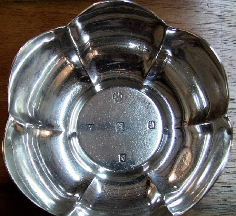 Mid-Century Modern 1966 Irish Sterling Silver Bowl for 50th Anniversary of 1916 Rising For Sale