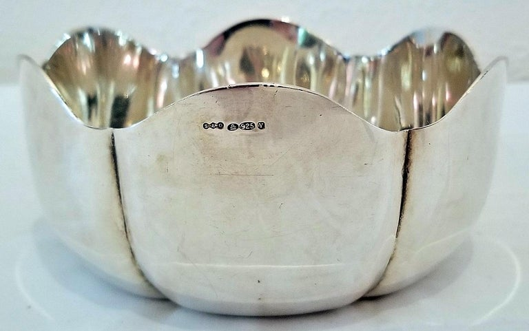 1966 Irish Sterling Silver Bowl for 50th Anniversary of 1916 Rising For Sale 3