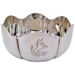 1966 Irish Sterling Silver Bowl for 50th Anniversary of 1916 Rising