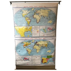 1967 World Exploration School Map