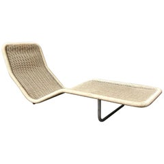 1968, Antti Nurmesniemi, for Tecta Germany, Plastic Wicker Lounge Chair F10