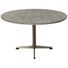 1968, Arne Jacobsen & Piet Hein for Fritz Hansen, Super Circular Coffee Table