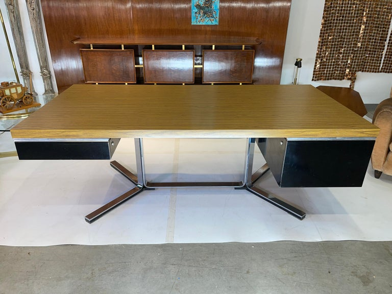 American 1968 Executive Desk For Sale