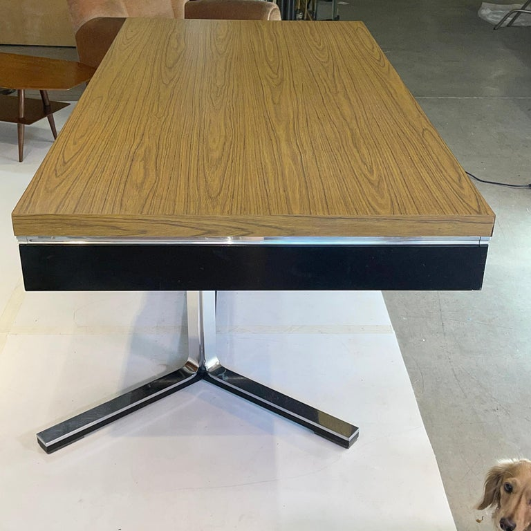 Mid-20th Century 1968 Executive Desk For Sale