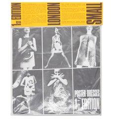1968 Harry Gordon Poster Dress Original Packaging Museum