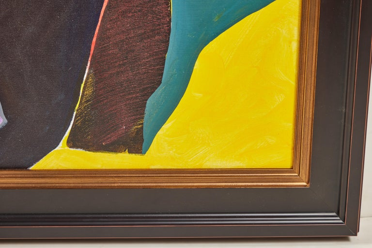 Mid-20th Century 1968, Jack Roth Painting For Sale