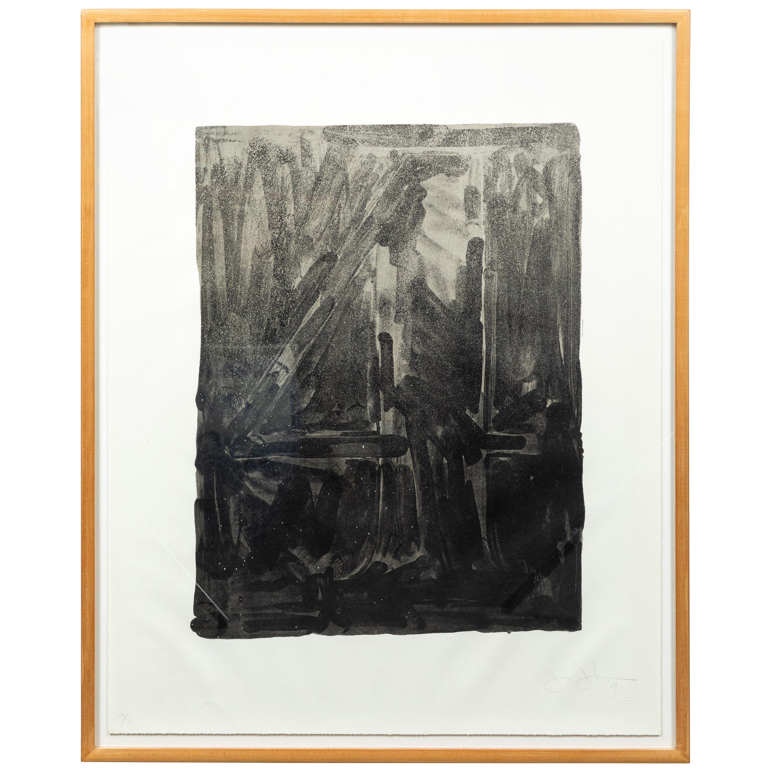 1968, Jasper Johns Etching