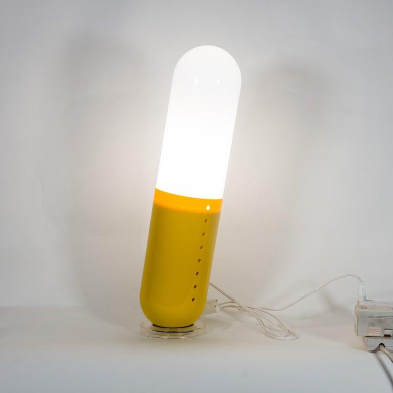 1968 Pillola Lamps Pop Italian Design Cesare Casati and Emanuele Ponzi For Sale 4