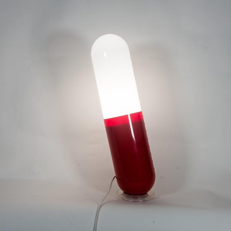1968 Pillola Lamps Pop Italian Design Cesare Casati and Emanuele Ponzi For Sale 6