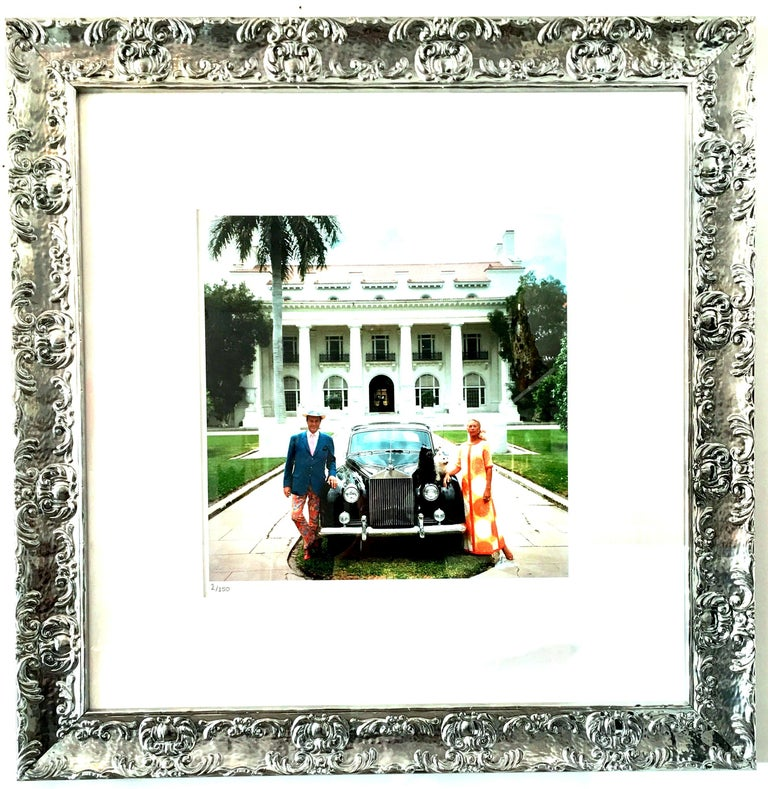 1968 Slim Aarons original photograph limited edition estate stamped & numbered
