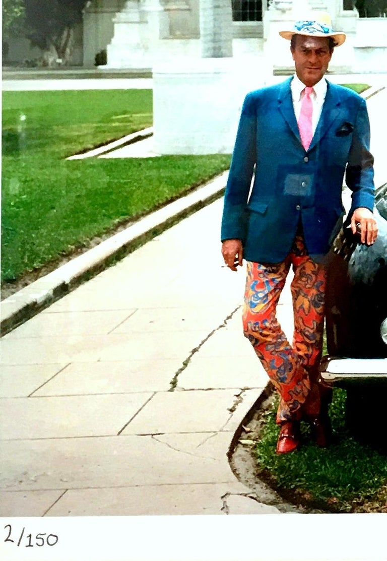 Paper 1968 Slim Aarons Photograph