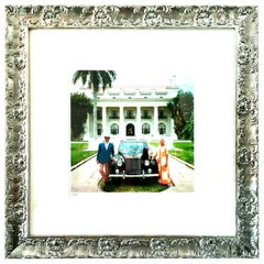 "1968 Slim Aarons Photograph ""Donald Leas Palm Beach"" Estate Stamped LE 2/150"