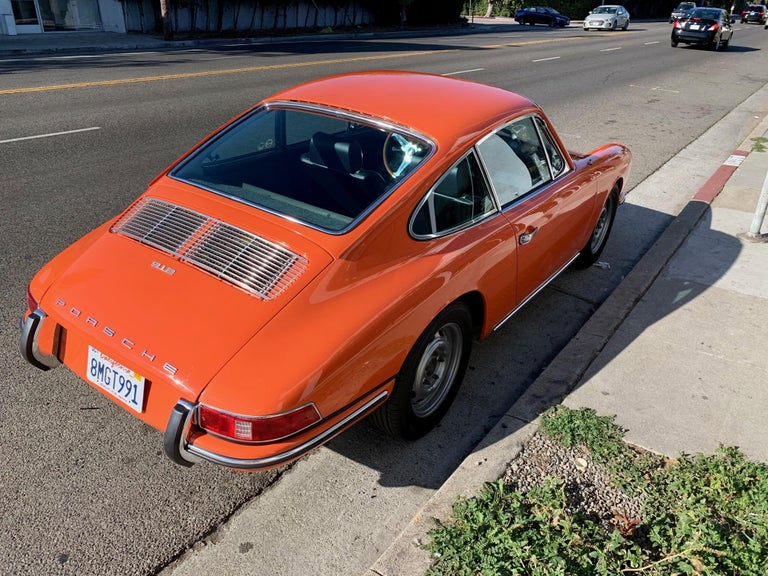 Mid-20th Century 1968 Tangerine Porsche 912 For Sale