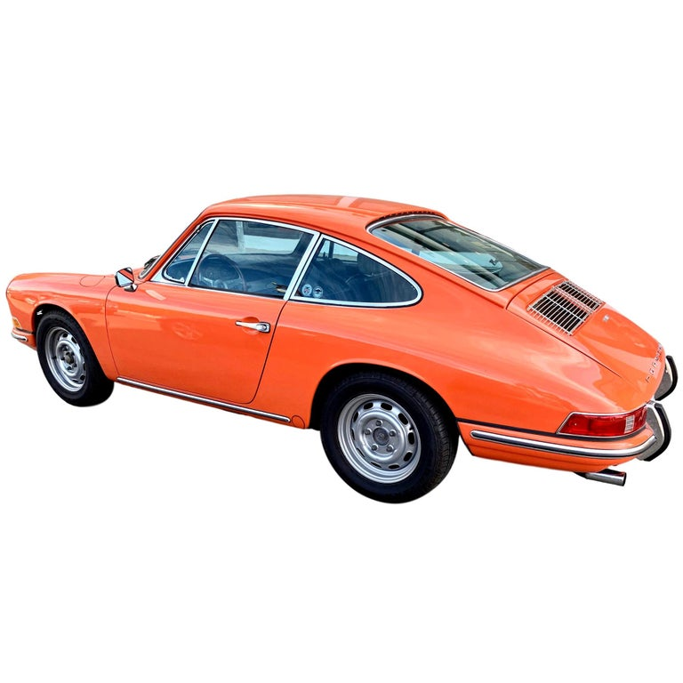 1968 Tangerine Porsche 912 For Sale