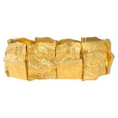 1969 Björn Weckstrom for Lapponia Gold Bracelet