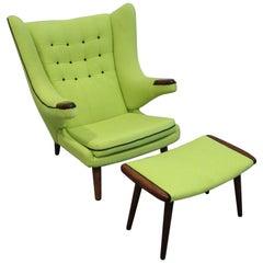 1969 Papa Bear Lounge Chair by Danica Domus Denmark