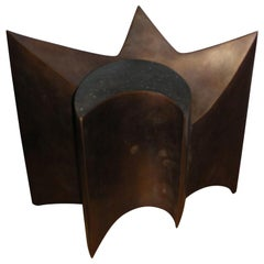 1970-1980 Bronze Sculpture Signed by J. L. Vetter