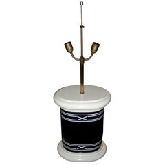1970-1980 Two-Tone Lacquer Lamp