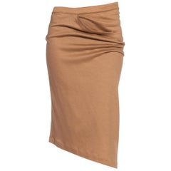 1970/80's Issey Miyake Draped Wool Jersey Skirt