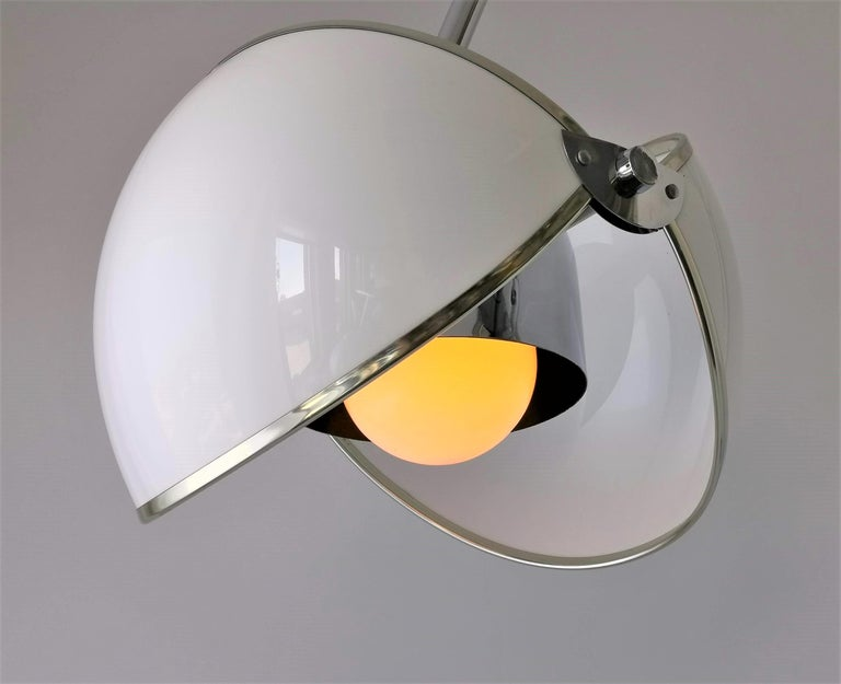 1970 Arch Floor Lamp in the Style of Superstudio, Italia For Sale 4