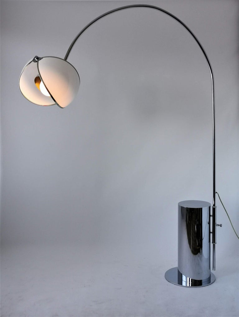 Italian 1970 Arch Floor Lamp in the Style of Superstudio, Italia For Sale
