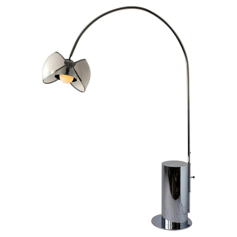 1970 Arch Floor Lamp in the Style of Superstudio, Italia For Sale