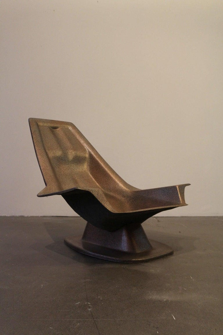 Mid-20th Century 1970, Armchair, Charles Zublena For Sale