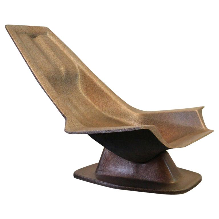 1970, Armchair, Charles Zublena For Sale