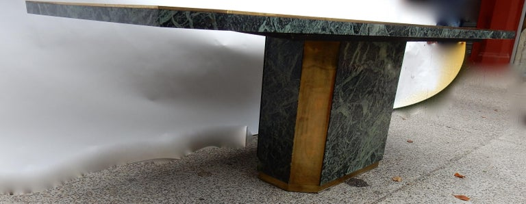 1970 Jean Claude Mahey for Paco Rabanne Table Dining Room For Sale 2