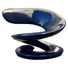 """1970, Louis Durot Armchair Sculpture """"Spirale"""""""