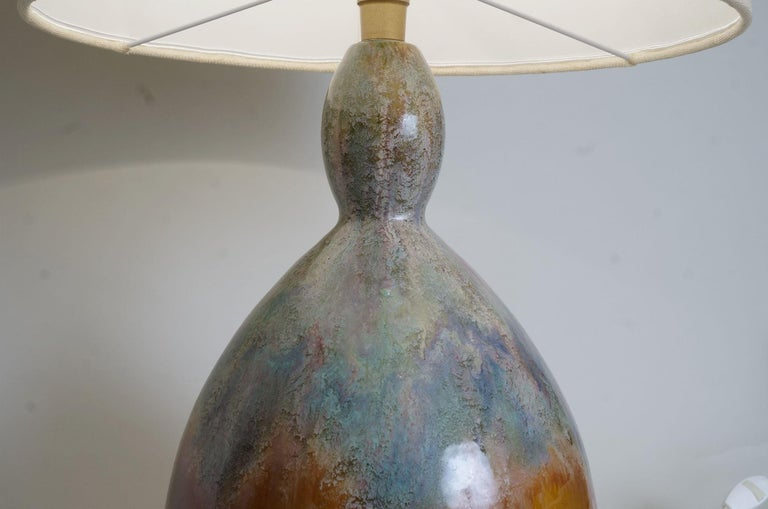 1970 Primavera Colocynth Table Lamp In Excellent Condition For Sale In Paris, FR
