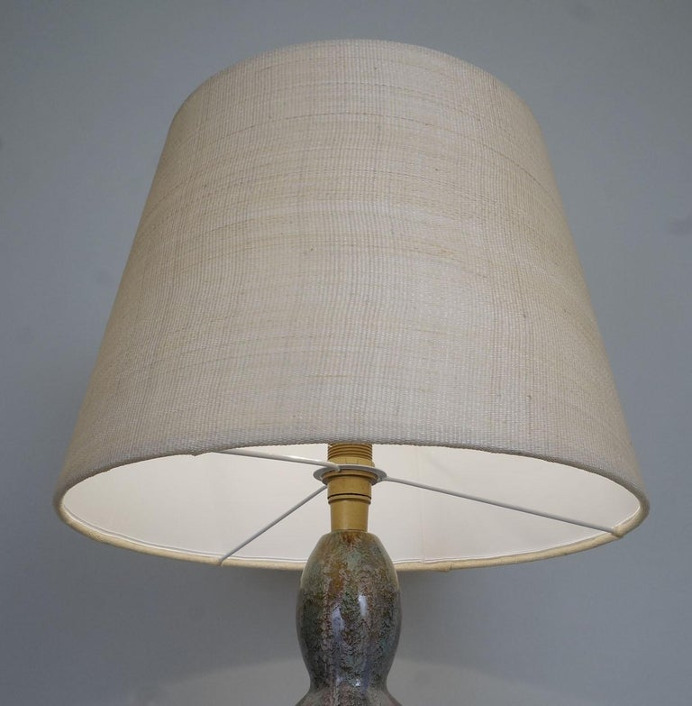 Ceramic 1970 Primavera Colocynth Table Lamp For Sale