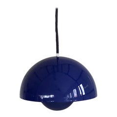 1970s Verner Panton Flowerpot Pendant Light for Louis Poulsen, Denmark