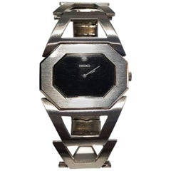 1970s/80s Seiko Bracelet Stainless Steel Wrist Watch