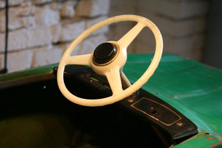 1970s a Metal Pedal Car Moskvich Azak For Sale 1