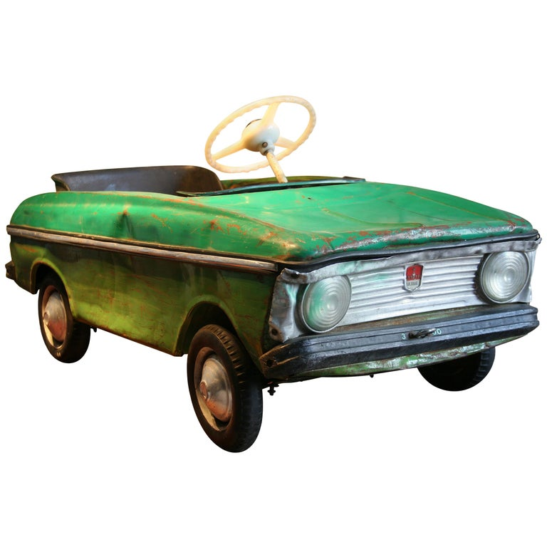 1970s A Metal Pedal Car Moskvich Azak For Sale At 1stdibs
