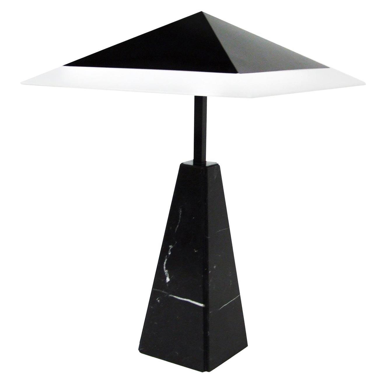 1970s Abat Jour Marble Table Lamp by Cini Boeri for Arteluce