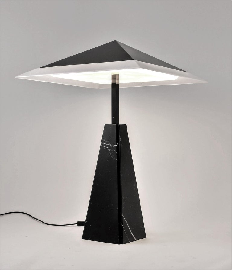 1970s 'Abat Jour' Table Lamp by Cini Boeri for Arteluce, Italy For Sale 7