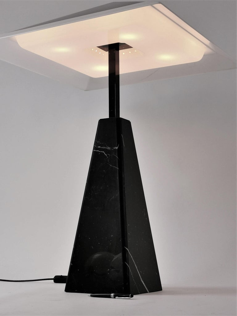 Mid-Century Modern 1970s 'Abat Jour' Table Lamp by Cini Boeri for Arteluce, Italy For Sale