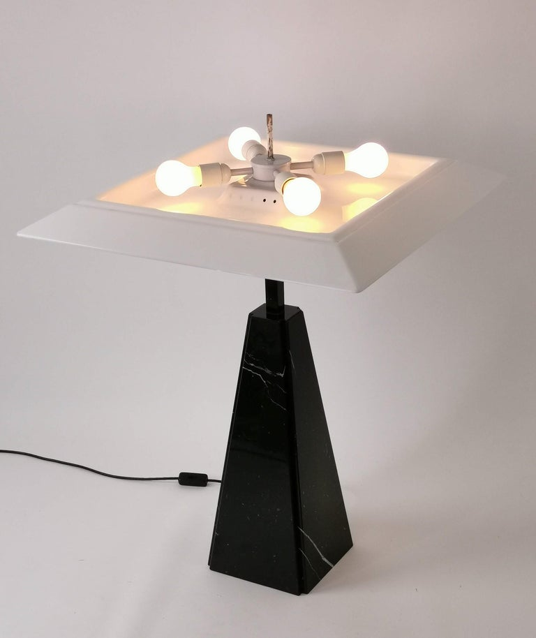 Late 20th Century 1970s 'Abat Jour' Table Lamp by Cini Boeri for Arteluce, Italy For Sale