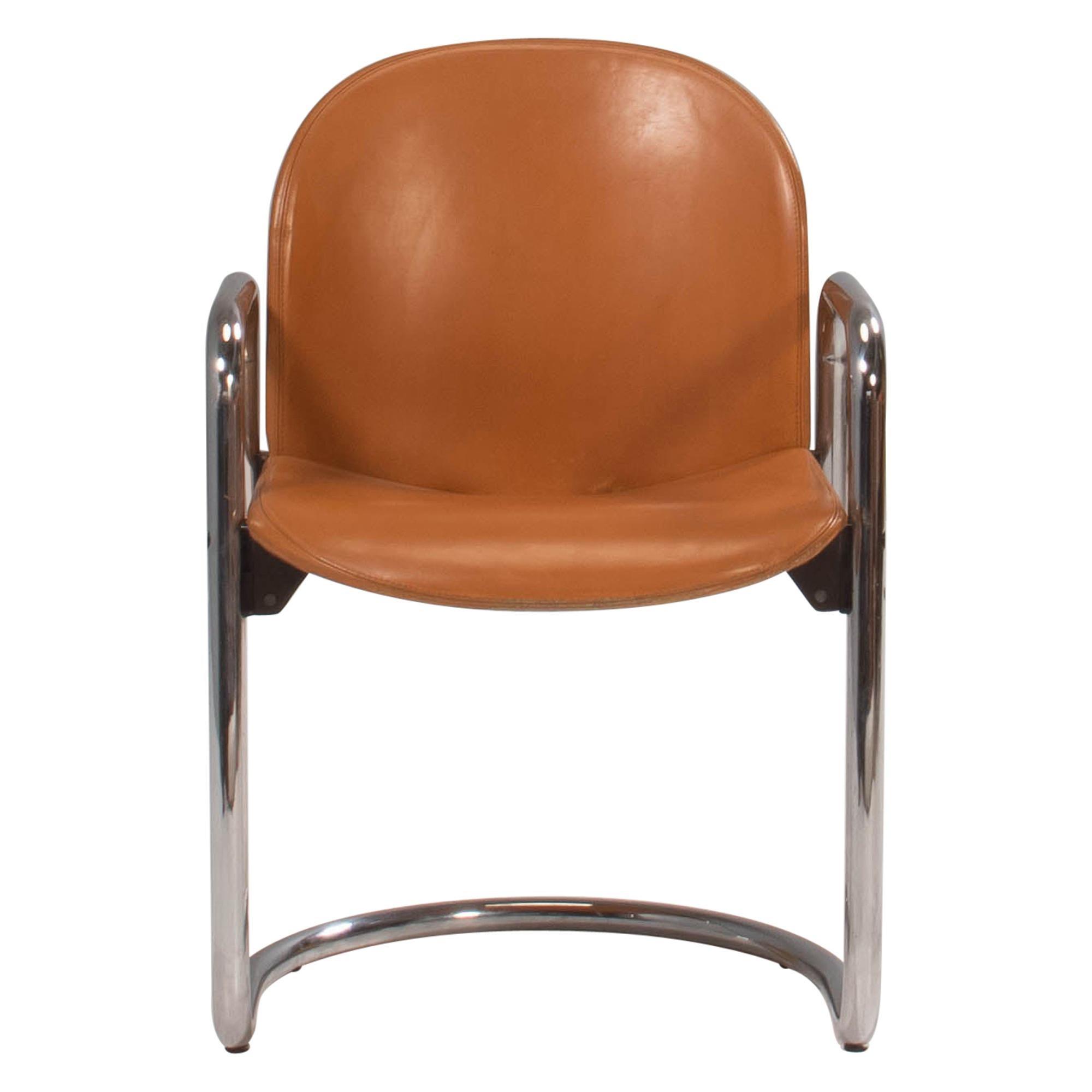 1970's Afra & Tobia Scarpa for B&B Italia Dialogo Dining Chair